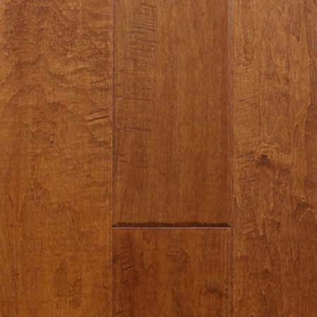 Maple Brown Sugar Hand Scraped Hardwood Flooring