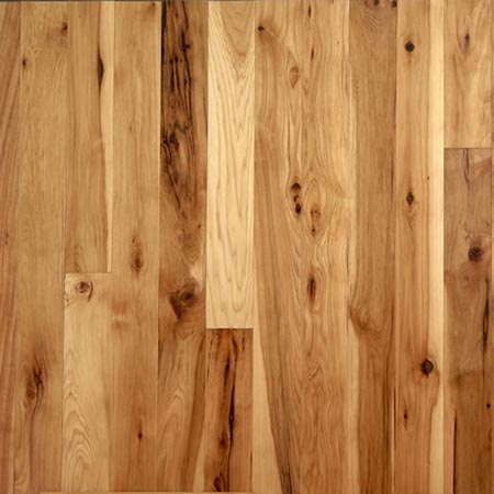 Rustic Hickory  Unfinished Hardwood Flooring