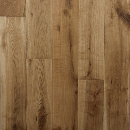 White Oak Natural Hand Scraped Solid Hardwood Flooring